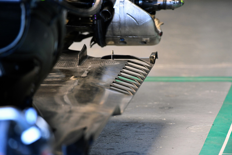 Mercedes-AMG F1 W09 rear floor