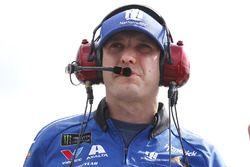 William Byron, Hendrick Motorsports, Chevrolet Camaro Unifirst crew chief Greg Ives