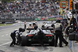 #44 Magnus Racing Audi R8 LMS GT3, GTD: John Potter, Andy Lally, pit stop