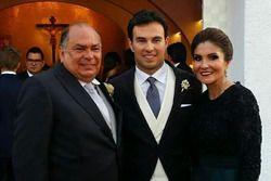 Antonio Pérez, Sergio Pérez y su madre