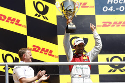 Podium: second place Mike Rockenfeller, Audi Sport Team Phoenix