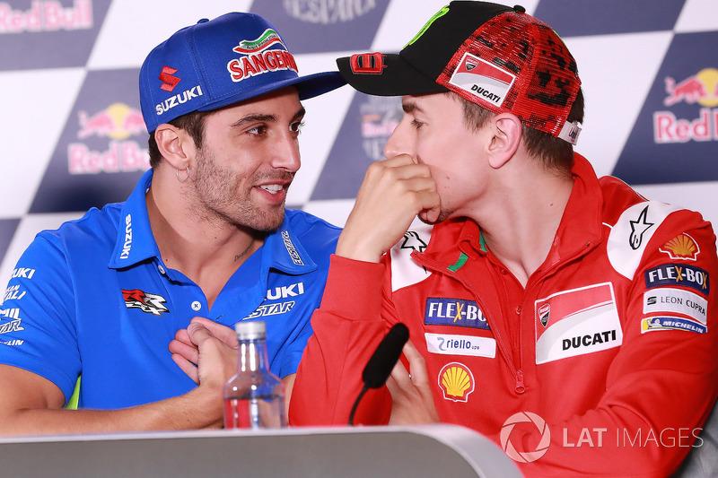 Andrea Iannone, Team Suzuki MotoGP, Jorge Lorenzo, Ducati Team