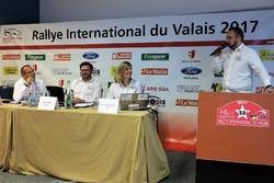 La nouvelle équipe organisatrice, présentée par Lionel Muller, pilote et collaborateur du service de presse du RIV
