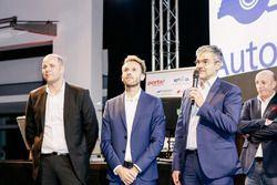 Dennis Rostek, René Rast, Audi Sport Team Rosberg, Dieter Gass