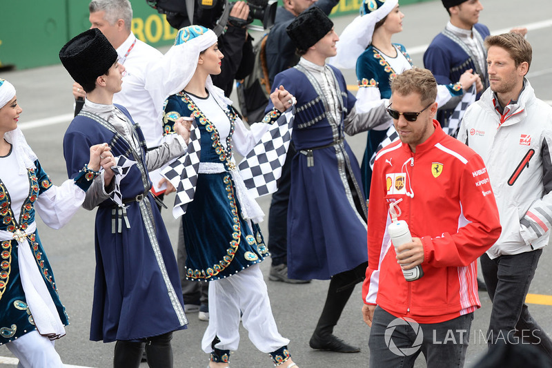 Sebastian Vettel, Ferrari Desfile de pilotos