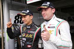 GT300 polesitters #88 JLOC Lamborghini Huracan GT3: Marco Mapelli, Kazuki Hiramine