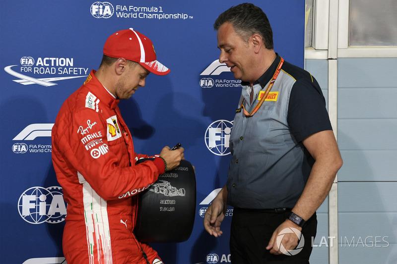 Sebastian Vettel, saldrá en pole
