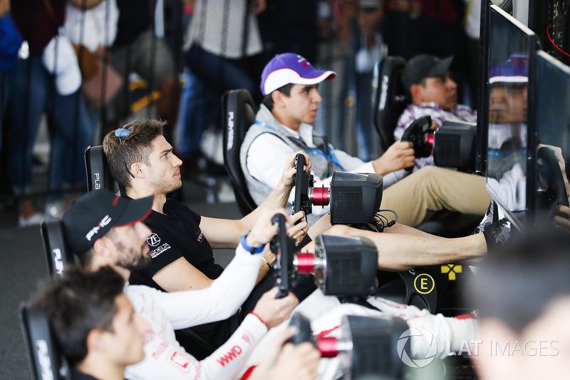 Edoardo Mortara, Venturi Formula E Team, en la eRace