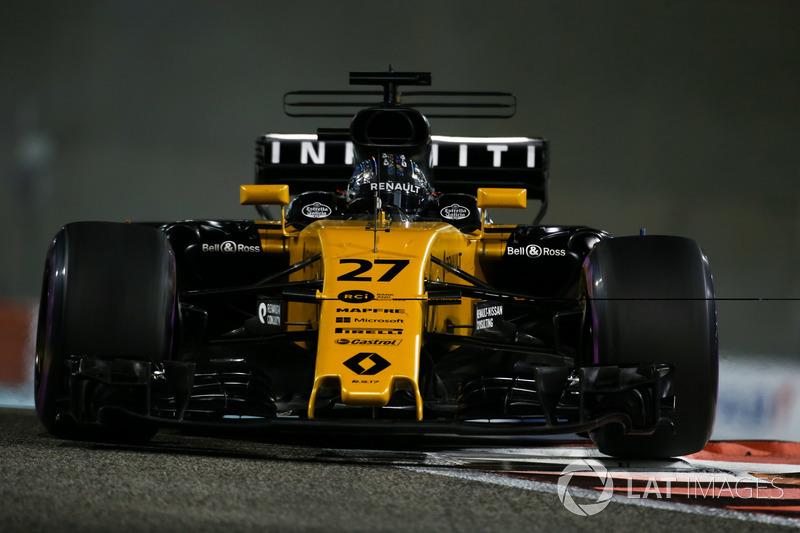 7. Nico Hülkenberg, Renault Sport F1 Team RS17