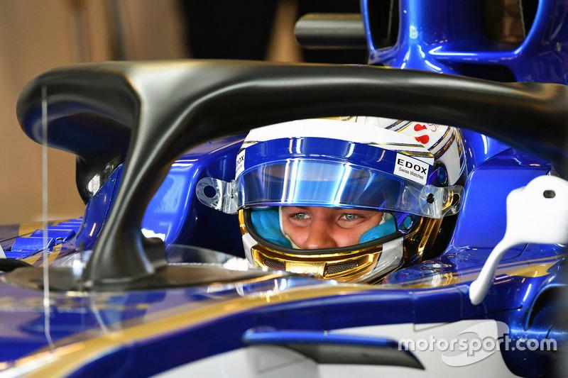 Marcus Ericsson, Sauber C36 y el halo
