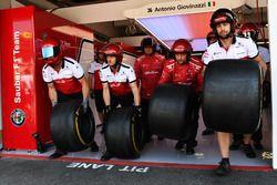 Mecánica Sauber y neumáticos Pirelli
