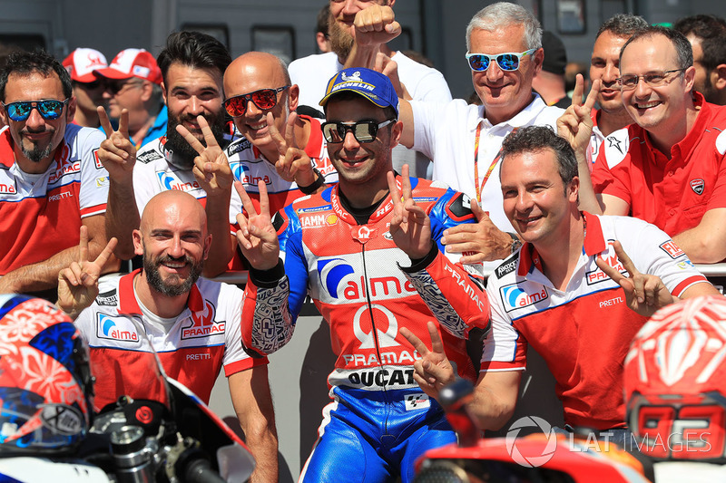 Segundo clasificado Danilo Petrucci, Pramac Racing