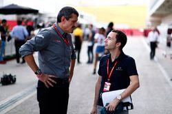 Guenther Steiner, Team Principal, Haas F1 Team, Nicolas Todt