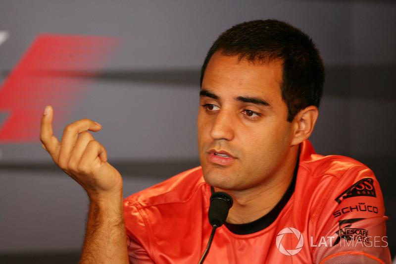 Хуан-Пабло Монтойя еще не отправился гробить карьеру в NASCAR и строил большие планы в главной гоночной серии мира, выступая за McLaren