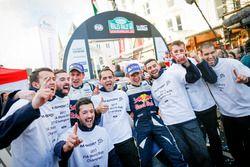 World Champion Sébastien Ogier, Julien Ingrassia, Ford Fiesta WRC, M-Sport