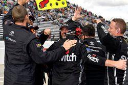 Race winner Noah Gragson, Kyle Busch Motorsports Toyota