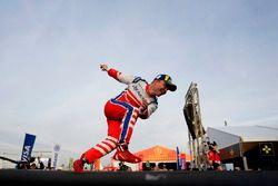 Podyum: Yarış galibi Felix Rosenqvist, Mahindra Racing