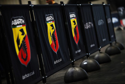 Fiat Abarth displays in the Live Action Arena