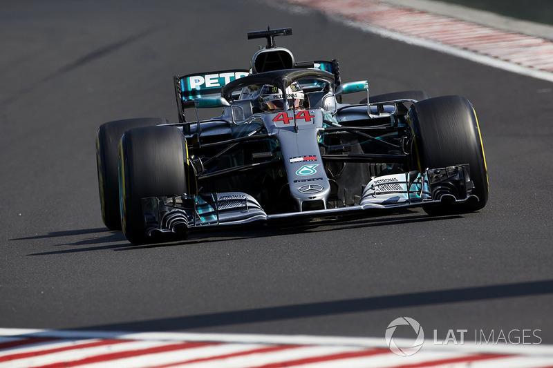 2018: Льюис Хэмилтон, Mercedes AMG F1 W09