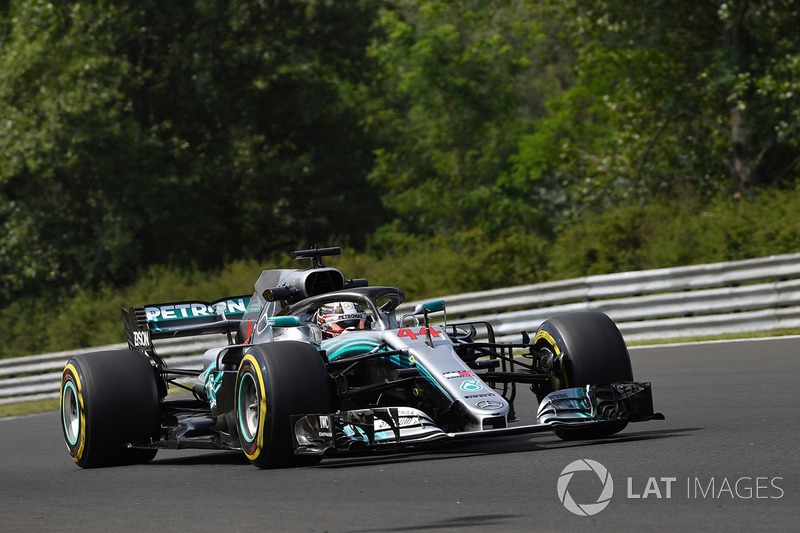 5. Lewis Hamilton, Mercedes AMG F1 W09