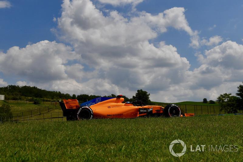 Lando Norris, McLaren MCL33 . Jerry Andre