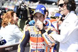 Second place qualifying Marc Marquez, Repsol Honda Team