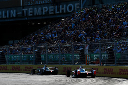 Nelson Piquet Jr., Jaguar Racing, Felix Rosenqvist, Mahindra Racing
