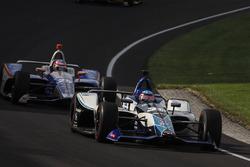 Takuma Sato, Rahal Letterman Lanigan Racing Honda, Stefan Wilson, Andretti Autosport Honda