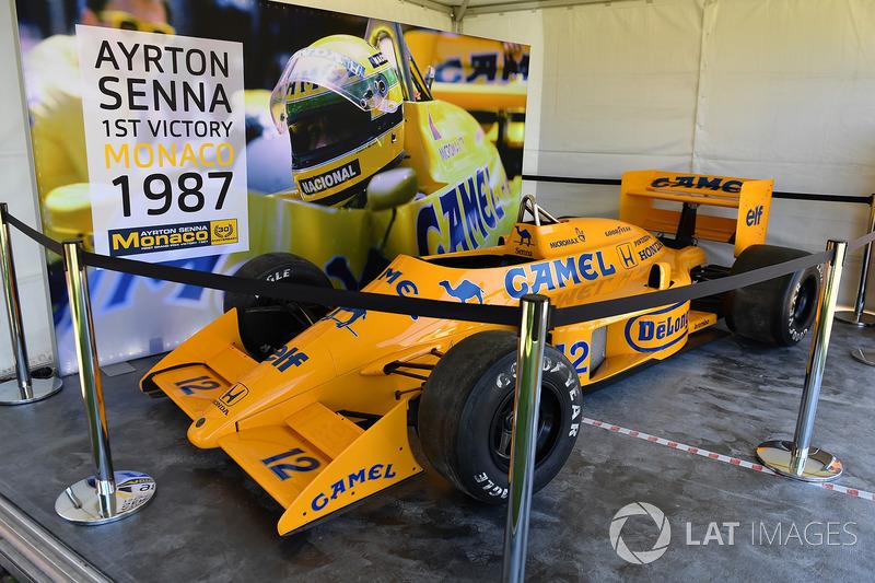La Lotus 99T de Ayrton Senna