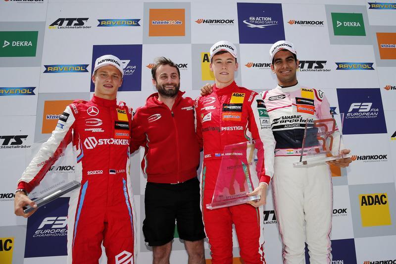 Jehan Daruvala (European F3 Norisring)