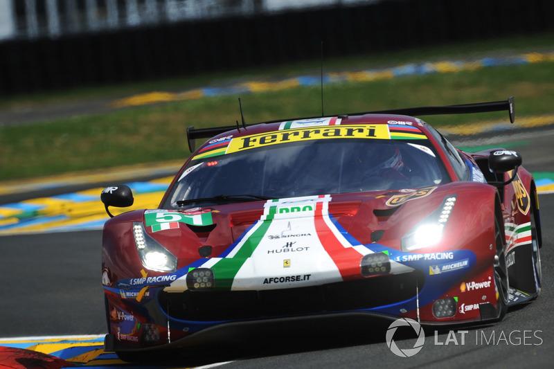 34: #51 AF Corse Ferrari 488 GTE EVO: Alessandro Pier Guidi, James Calado, Daniel Serra, 3'49.494