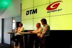 Gerhard Berger, ITR Chairman, Masaaki Bandoh, Chairman GTA