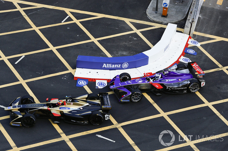 Jean-Eric Vergne, Techeetah y Sam Bird, DS Virgin Racing