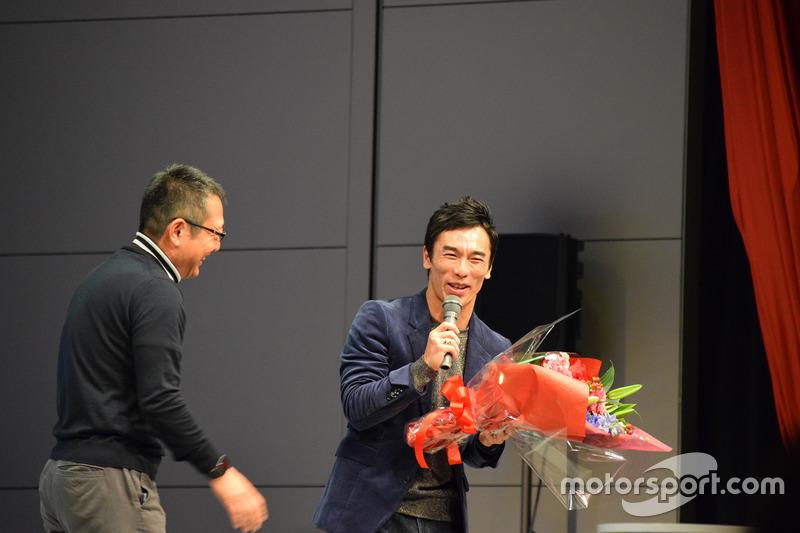 佐藤琢磨と大谷達也氏