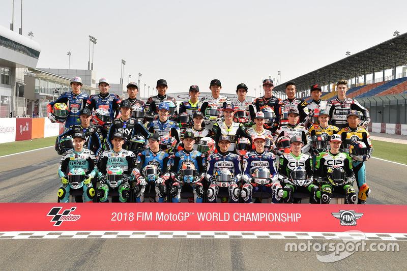 Para pembalap Moto3 2018
