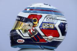 Le casque de Sergey Sirotkin, Williams