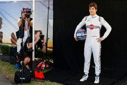 Lance Stroll, Williams Racing, has his photograph taken