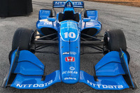 La voiture d'Ed Jones, Chip Ganassi Racing Honda