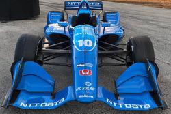 The car of Ed Jones, Chip Ganassi Racing Honda
