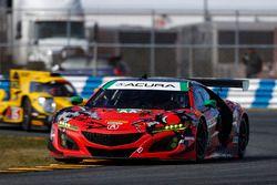 #93 Michael Shank Racing Acura NSX, GTD: Lawson Aschenbach, Justin Marks, Mario Farnbacher, C_¥me Ledogar