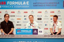 Conferencia de prensa: Mark Preston, director Techeetah Team, Gary Hughes, director NIO Formula E Te