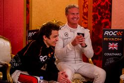 David Coulthard and Lando Norris