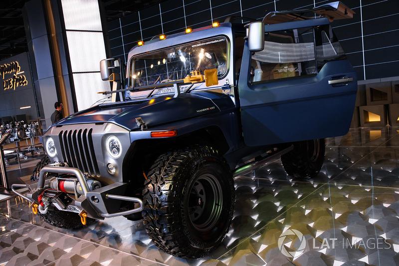 Mahindra Thar customisation at Delhi Auto Expo