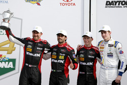 Victory lane, second place P: #31 Action Express Racing Cadillac DPi: Felipe Nasr, Eric Curran, Mike Conway, Stuart Middleton
