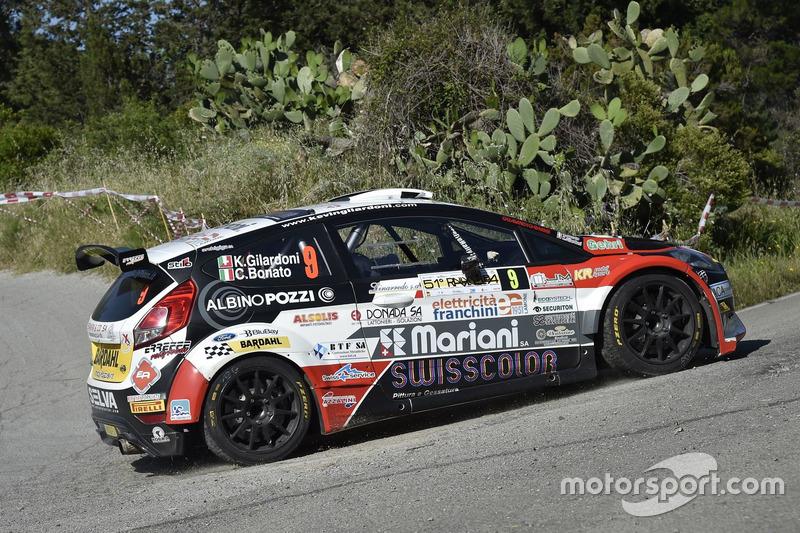 Kevin Gilardoni, Corrado Bonato, Ford Fiesta R5, Movisport
