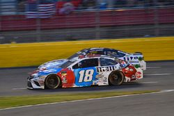 Kyle Busch, Joe Gibbs Racing, Toyota Camry M&M's Red White & Blue, Brad Keselowski, Team Penske, Ford Fusion Stars, Stripes, and Lites