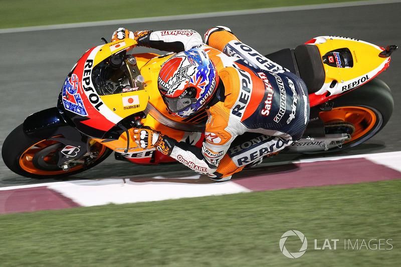 Plus grand nombre de pole positions MotoGP : 4