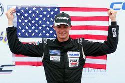 Race winner Kyle Kirkwood