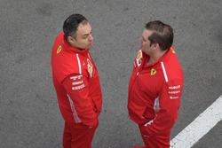 Ferrari SF71H team members