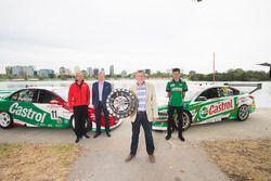 Andrew Westacott, Scott Mayson, Larry Perkins, Rick Kelly, Nissan Motorsport